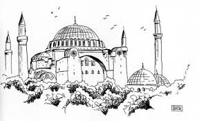 Agia Sofia, gravura